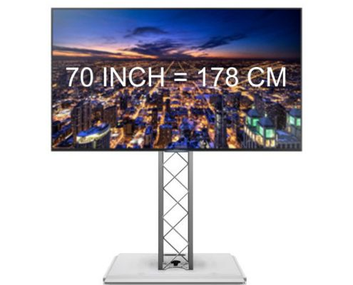 Verhuur 70 inch Televisie